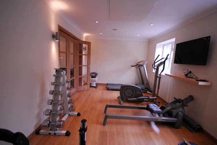 gym garage conversion