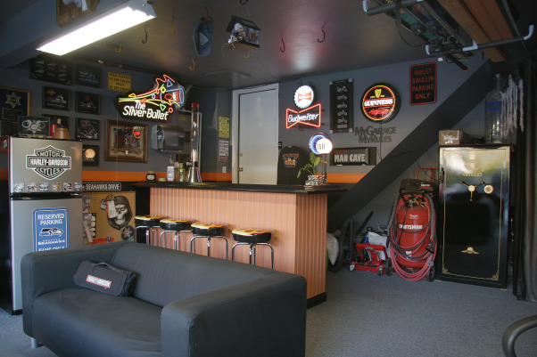 ultimate man cave garage conversion